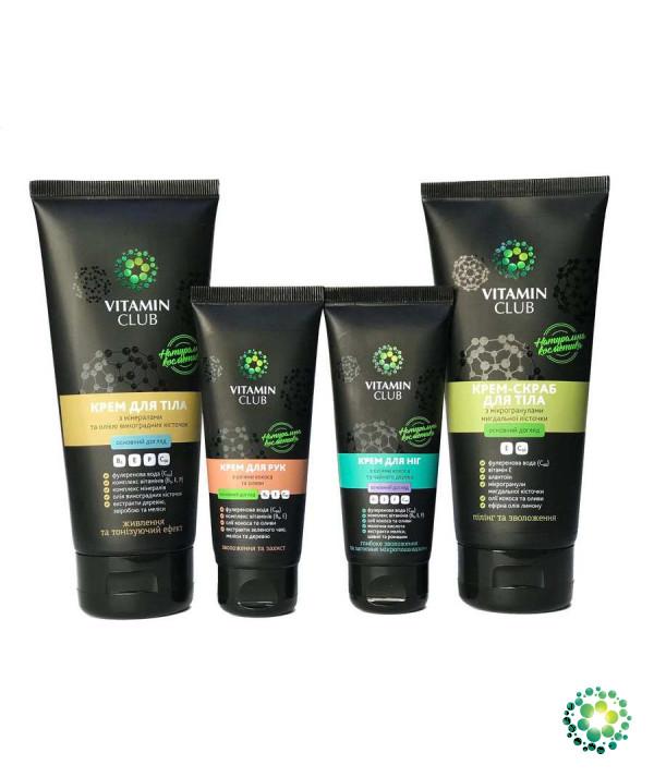 М'ЯКІСТЬ І ПРУЖНІСТЬ. Набір засобів для шкіри тіла з комплексом натуральних олій